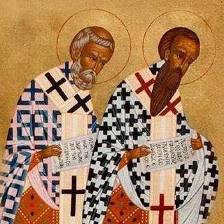 Santos Basilio el Grande y Gregorio Nacianceno, obispos y doctores de la Iglesia