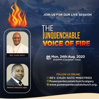 THE UNQUENCHABLE VOICES OF FIRE 36 with Prophet Chris Ajabor, Omega Worship Centre