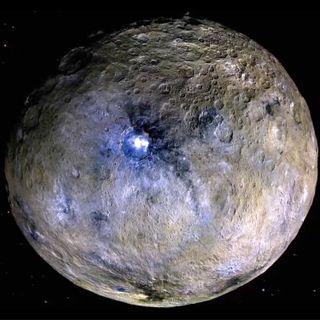 Why didn't Dawn land on dwarf planet Ceres?
