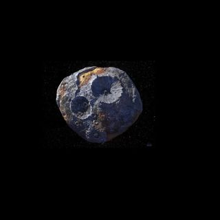 asteroide de oro