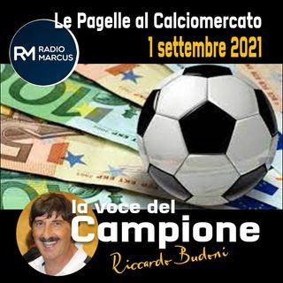 LA VOCE DEL CAMPIONE. Riccardo Budoni fa la pagella al Calciomercato