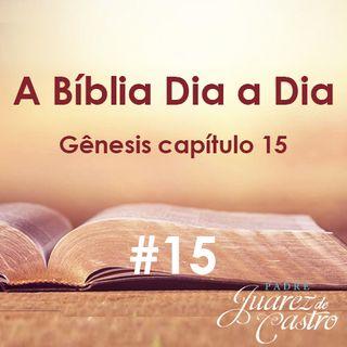 Curso Bíblico 15 - Gênesis Capítulo 15 - Aliança de Deus com Abrão - Padre Juarez de Castro