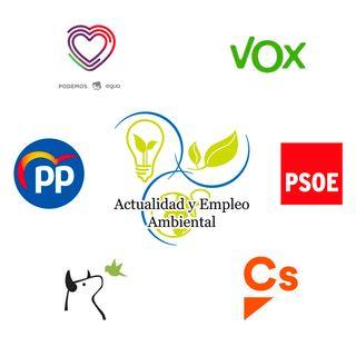 Análisis de programas electorales | Actualidad y Empleo Ambiental #9 - 22/04/19