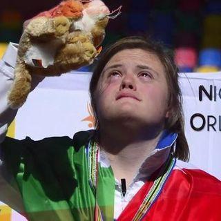 Un saluto speciale dall'atleta Nicole Orlando