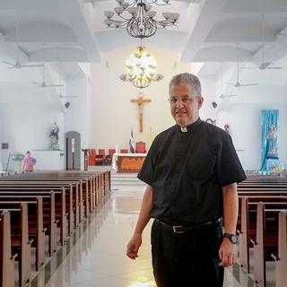 """#ENTREVISTA   Monseñor Mántica: """"La iglesia en Nicaragua tiene enemigos históricos"""""""