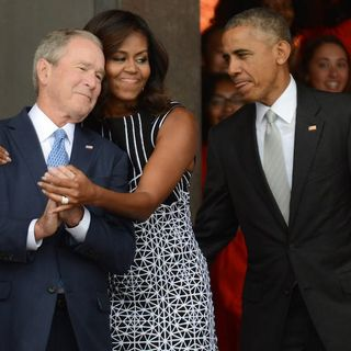 Episode 770   Election Day in UK   Michelle and Bush's Values   What American Meritocracy?