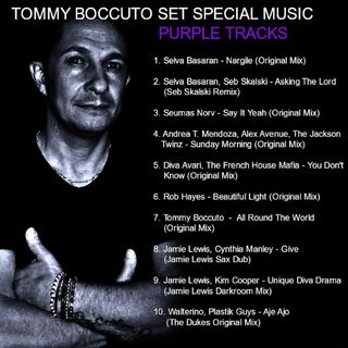 TOMMY BOCCUTO SET SPECIAL MUSIC PURPLE TRACKS