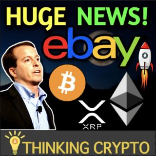 Ebay Exploring Crypto Payments & NFT Auctions - Ethereum Moonshot To $3,400 & Mogo Buys Ether