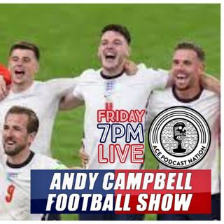 ENGLAND MAKE FINALS IN HISTORIC VICTORY | ITALY V ENGLAND PREVIEW | AC FOOTY SHOW: #EURO2020 #13