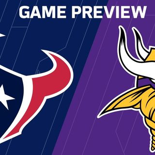 Purple People Eaters: Minnesota Vikings vs. Houston Texans!