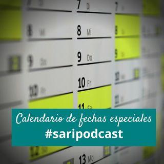 Calendario de fechas especiales