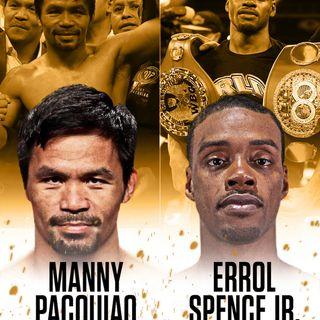 Pacquiao v Spence announced!!!