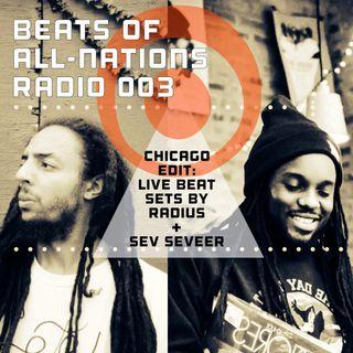Radio Episode 003:  Radius & Sev Seveer