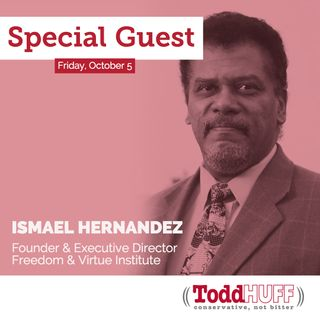 Ismael Hernandez, Founder & Executive Director of Freedom & Virtue Institute