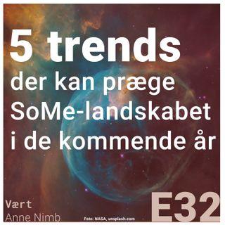 5 trends der kan præge SoMe-landskabet i de kommende år