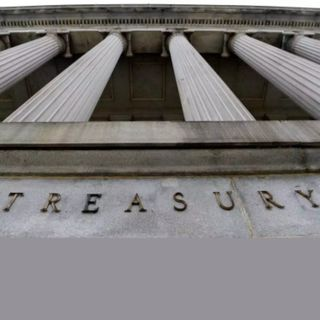 Treasury yields rise.