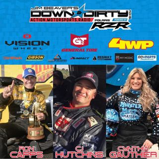 #384 – Ron Capps, CJ Hutchins, & Cynthia Gauthier On Air!