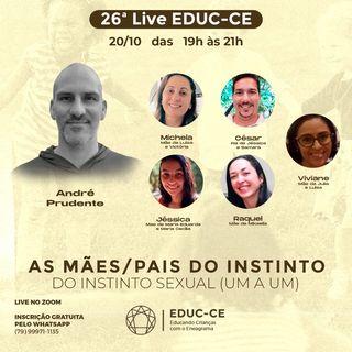 26a Live EDUC-CE: as mães e pais e o instinto sexual (um a um) do eneagrama