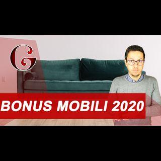 BONUS MOBILI 2020: cosa comprende e come ottenere la detrazione