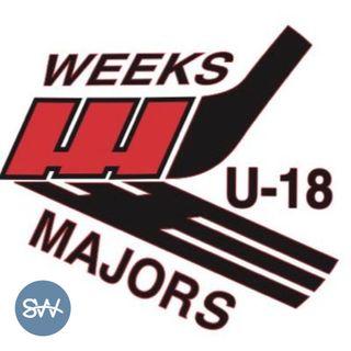 Weeks Majors U18 Coach Kyle MacLennan