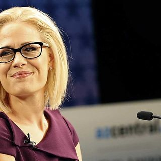 Kyrsten Sinema Bi-Sexual Female For President?