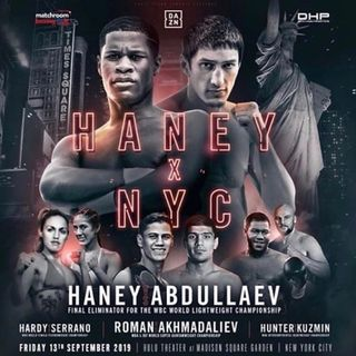Preview Of The DaznUSA Card Headlined By Devin Haney-Zaur Abdullaev For The WBC Interim Lightweight Title At MSG In NYC + Stacked Undercar