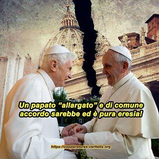 Papato allargato? È eresia!