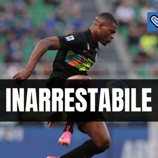 Inter-Bologna, il dato clamoroso sulla prestazione devastante di Dumfries