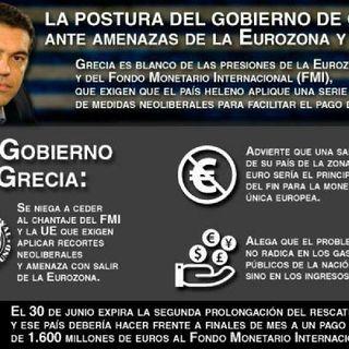 Maniobras De La UE Vs Gobierno De Grecia