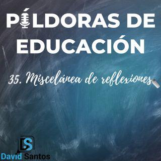 PDE35 - Miscelánea de reflexiones
