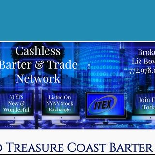 What is Treasure Coast Barter and how does a barter exchange work?