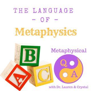 The Language of Metaphysics