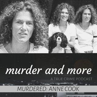 MURDERED: Anne Cook