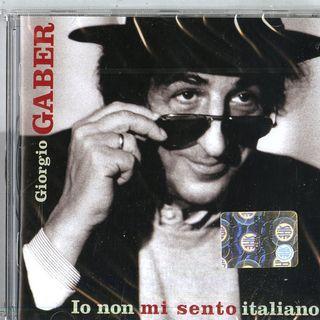 G. GABER IO NON MI SENTO ITALIANO MFQS
