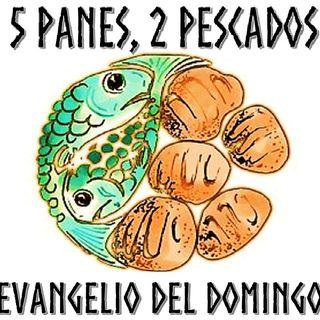 5 panes, 2 pescados - Evangelio del 29/07/18 - Domingo XVII T. Ordinario - Jn. 6, 1-15
