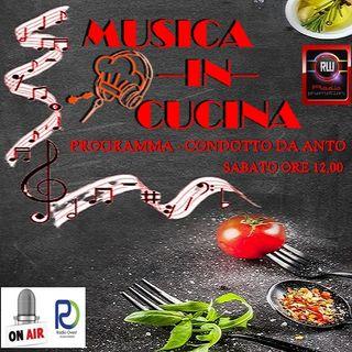 MusicaInCucina  12 dicembre RadioOvest