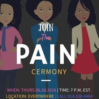 The Pain Stops Today Ceremony