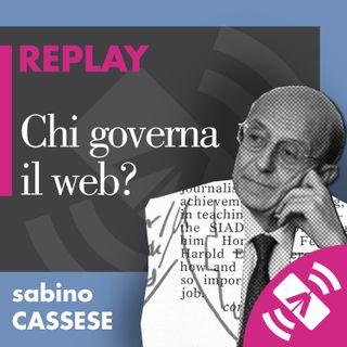 """24 > Sabino CASSESE """"Chi governa il web?"""""""