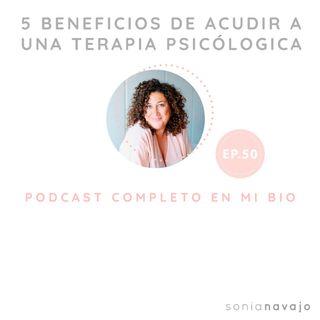 50- Cuales son los 5 beneficios de asistir a terapia psicológica