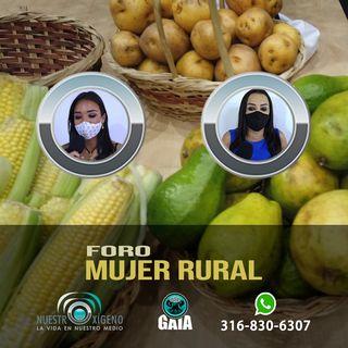 NUESTRO OXÍGENO Foro mujer rural - Xiomara González-Nazly Vidales