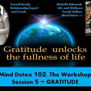 MIND DETOX 102~ SESSION 5: GRATITUDE