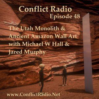 Episode 48  Utah Monolith & Ancient Amazon Wall Art