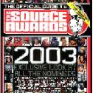 Source Awards 2003 and Beef with Camron!!!