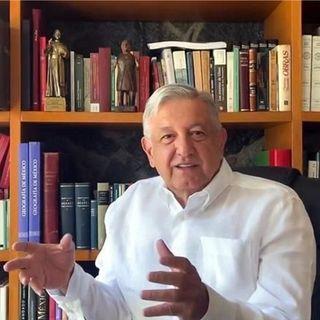 Agradece López Obrador a mexicanos sacrificio de quedarse en casa