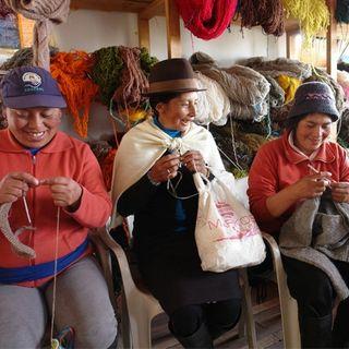 El regreso de America Latina - I maglioni delle signore dell'Equador