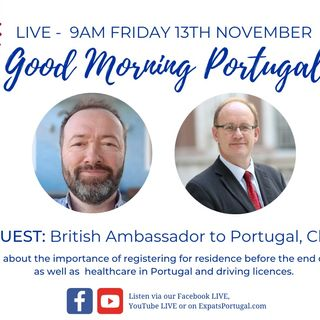UK Ambassador Chris Sainty on the Good Morning Portugal! Show