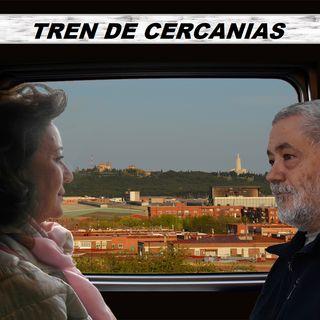 Mari Ángeles Herrero, voluntaria de Cáritas se sube al Tren de Cercanías