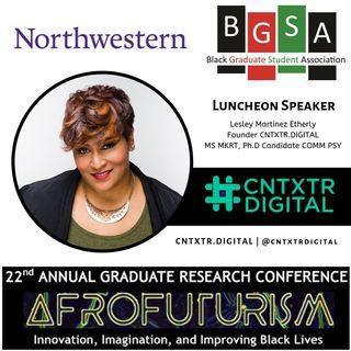 Live at Northwestern's Black Graduate Association 22nd Conference