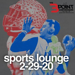 The 3 Point Conversion Sports Lounge- Young Jeezy Interview, Should Wilder Exercise Rematch Clause, NFL Combine Standouts, Buying Zion Hype?