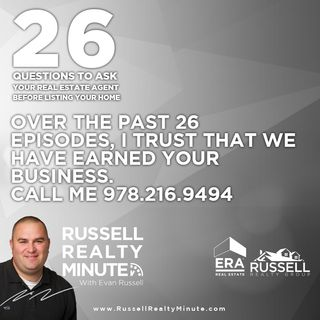 Recap of the the previous 26.5 episodes of real estate questions